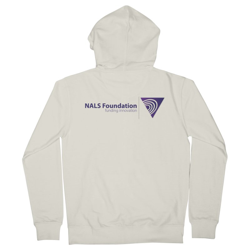 NALS Foundation - Color Men's French Terry Zip-Up Hoody by NALS.org Apparel Shop