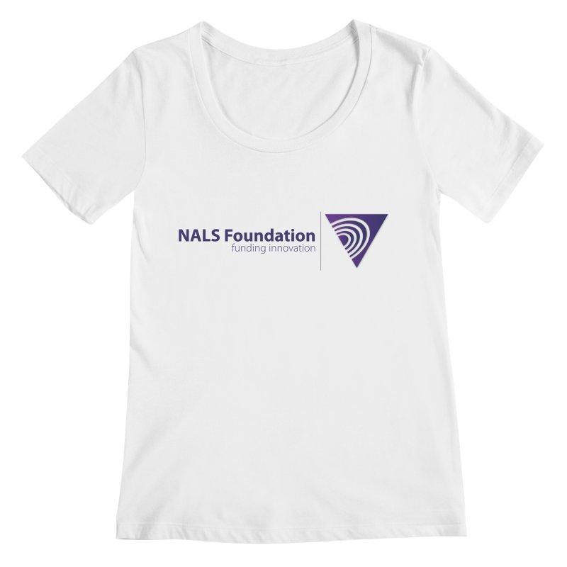 NALS Foundation - Color Women's Regular Scoop Neck by NALS.org Apparel Shop