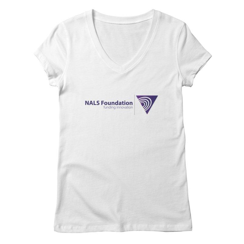 NALS Foundation - Color Women's Regular V-Neck by NALS.org Apparel Shop