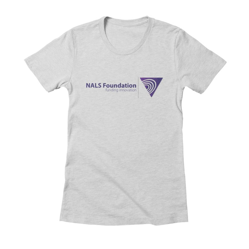 NALS Foundation - Color Women's Fitted T-Shirt by NALS.org Apparel Shop