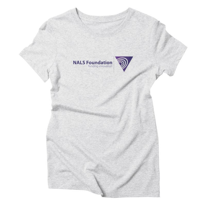 NALS Foundation - Color Women's Triblend T-Shirt by NALS.org Apparel Shop