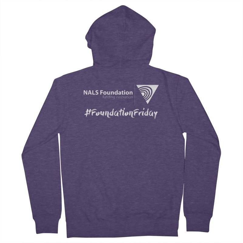 NALS Conference - #FoundationFriday Men's French Terry Zip-Up Hoody by NALS.org Apparel Shop