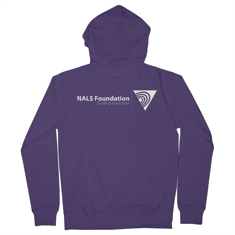 NALS Foundation - White Logo Women's Zip-Up Hoody by NALS.org Apparel Shop