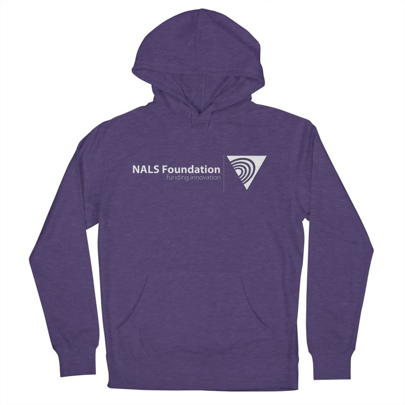 NALS Foundation - White Logo Women's French Terry Pullover Hoody by NALS.org Apparel Shop
