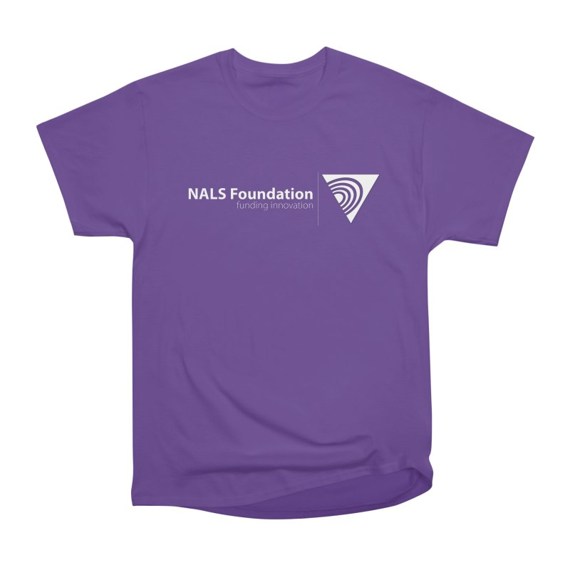 NALS Foundation - White Logo Men's Heavyweight T-Shirt by NALS.org Apparel Shop