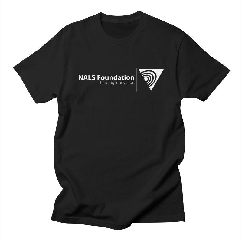 NALS Foundation - White Logo Men's Regular T-Shirt by NALS.org Apparel Shop