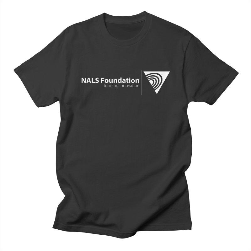 NALS Foundation - White Logo Women's Regular Unisex T-Shirt by NALS.org Apparel Shop