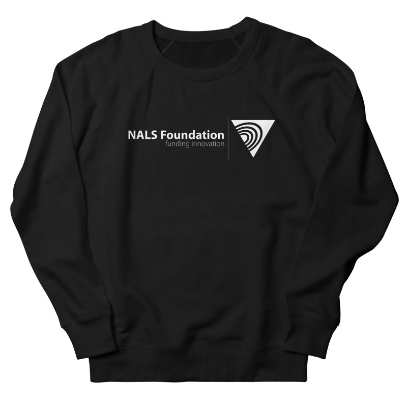 NALS Foundation - White Logo Women's French Terry Sweatshirt by NALS.org Apparel Shop