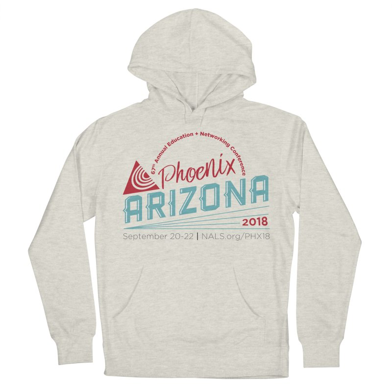 Official Conference Logo - Full Color Men's French Terry Pullover Hoody by NALS.org Apparel Shop