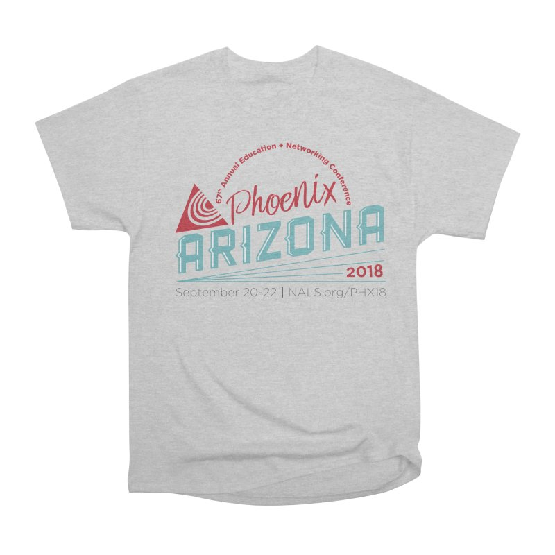 Official Conference Logo - Full Color Men's Heavyweight T-Shirt by NALS.org Apparel Shop