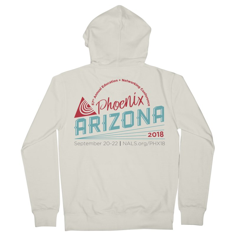 Official Conference Logo - Full Color Men's French Terry Zip-Up Hoody by NALS.org Apparel Shop
