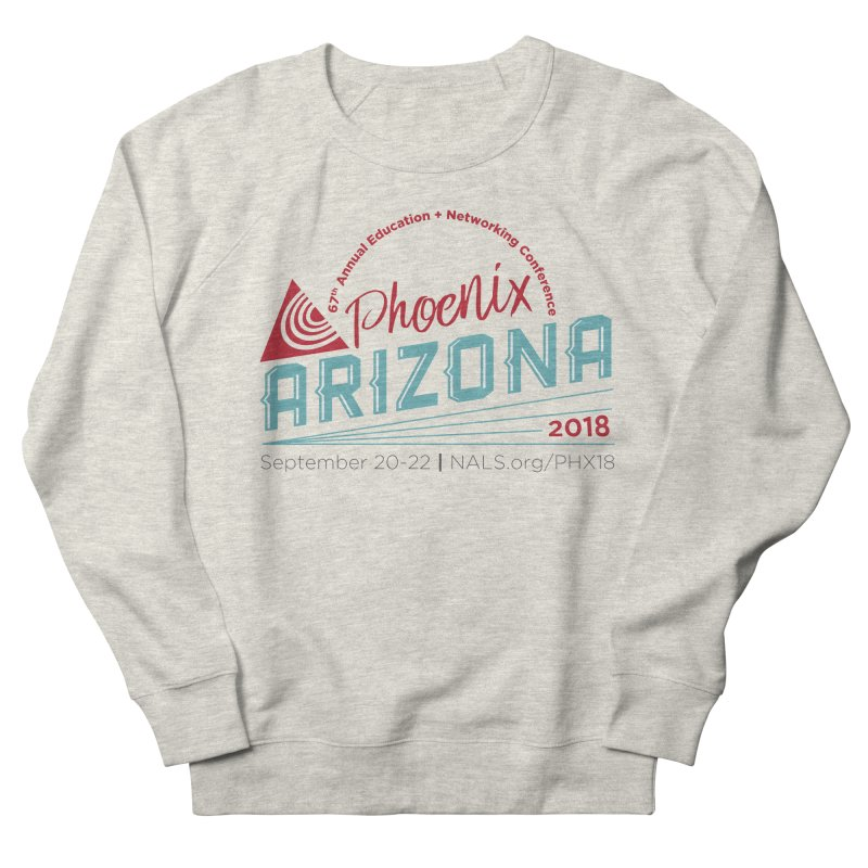 Official Conference Logo - Full Color Women's French Terry Sweatshirt by NALS Apparel & Accessories
