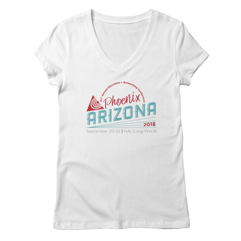 Official Conference Logo - Full Color Women's V-Neck by NALS Apparel & Accessories