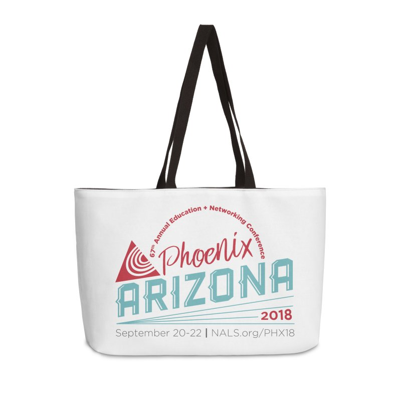 Official Conference Logo - Full Color in Weekender Bag by NALS.org Apparel Shop