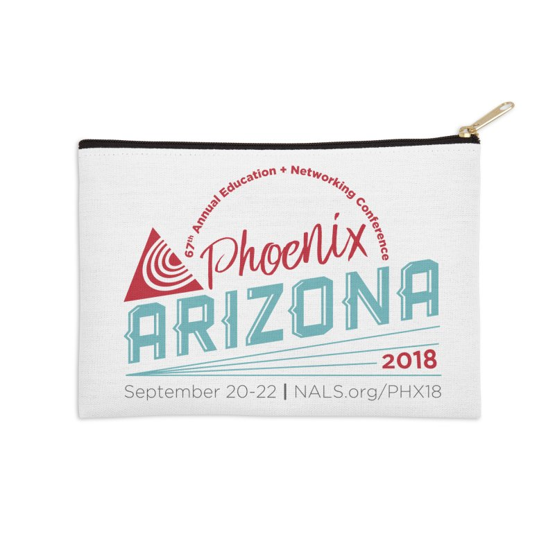 Official Conference Logo - Full Color Accessories Zip Pouch by NALS.org Apparel Shop