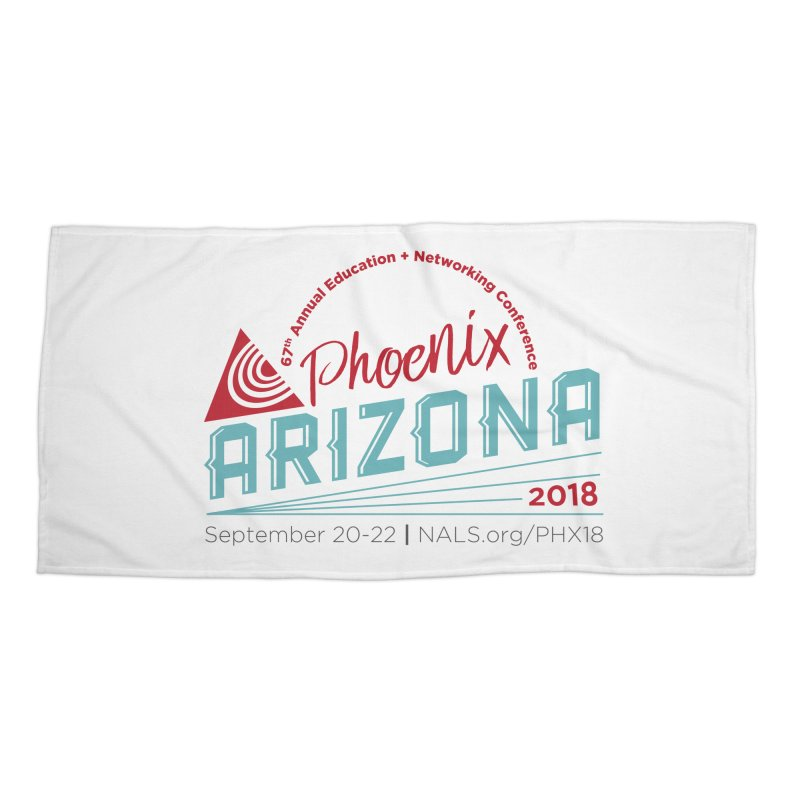 Official Conference Logo - Full Color Accessories Beach Towel by NALS.org Apparel Shop