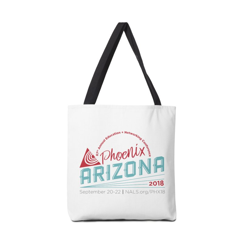 Official Conference Logo - Full Color Accessories Tote Bag Bag by NALS.org Apparel Shop