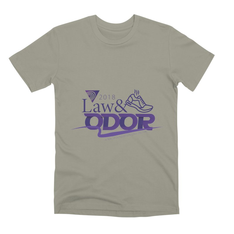 Law and Odor - Color Logo Men's Premium T-Shirt by NALS.org Apparel Shop