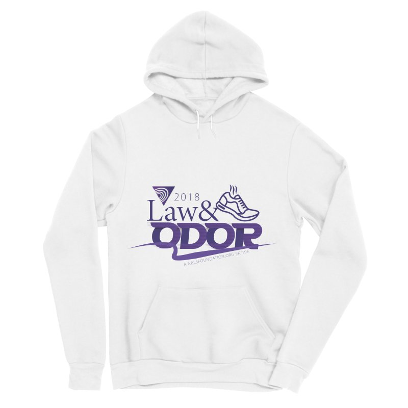 Law and Odor - Color Logo Men's Sponge Fleece Pullover Hoody by NALS.org Apparel Shop