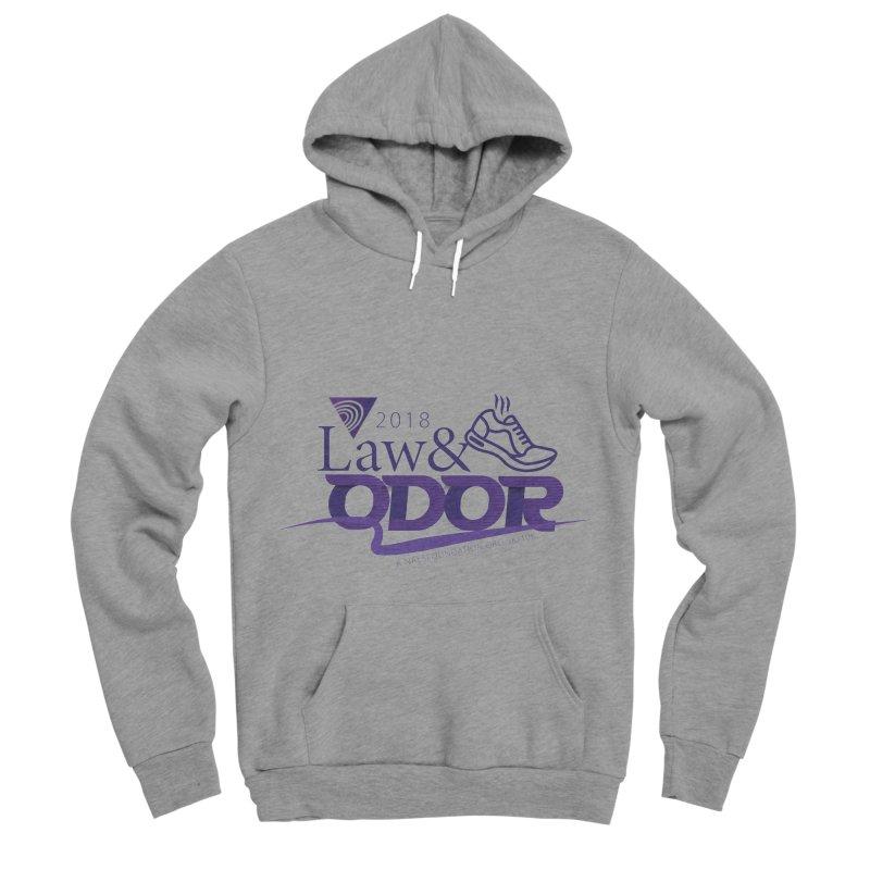 Law and Odor - Color Logo Men's Sponge Fleece Pullover Hoody by NALS.org Apparel Shop
