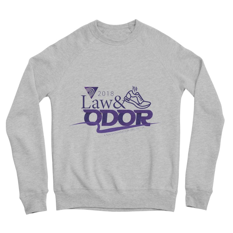 Law and Odor - Color Logo Men's Sponge Fleece Sweatshirt by NALS.org Apparel Shop