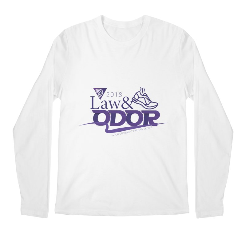 Law and Odor - Color Logo Men's Regular Longsleeve T-Shirt by NALS Apparel & Accessories