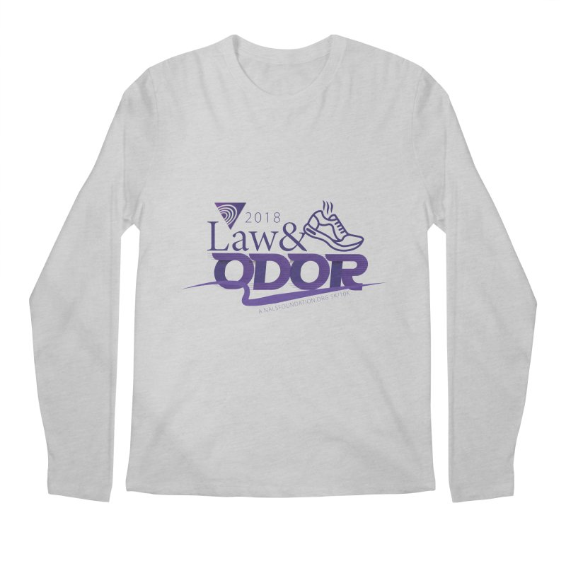 Law and Odor - Color Logo Men's Regular Longsleeve T-Shirt by NALS.org Apparel Shop