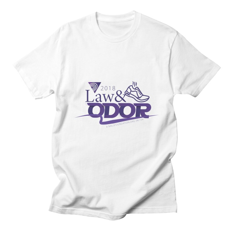 Law and Odor - Color Logo Women's Regular Unisex T-Shirt by NALS.org Apparel Shop