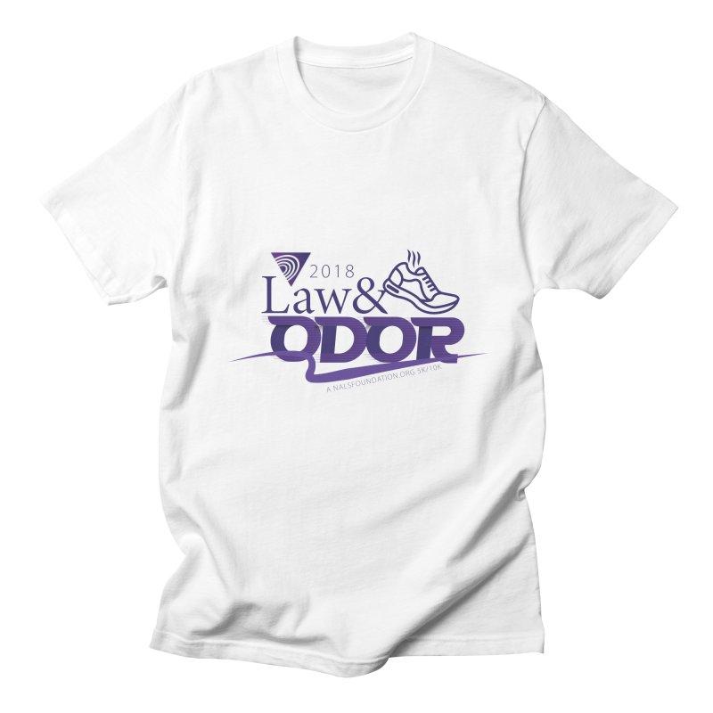 Law and Odor - Color Logo Men's Regular T-Shirt by NALS.org Apparel Shop