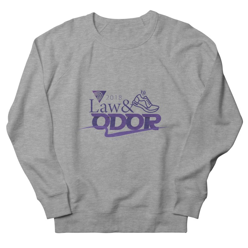 Law and Odor - Color Logo Men's French Terry Sweatshirt by NALS.org Apparel Shop