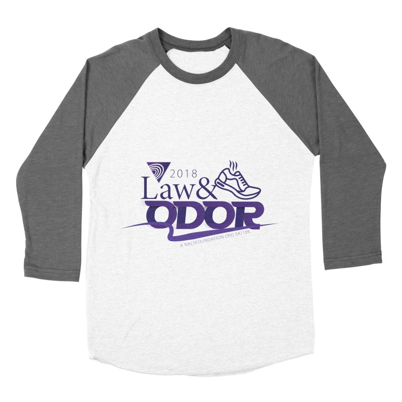 Law and Odor - Color Logo Men's Baseball Triblend Longsleeve T-Shirt by NALS Apparel & Accessories