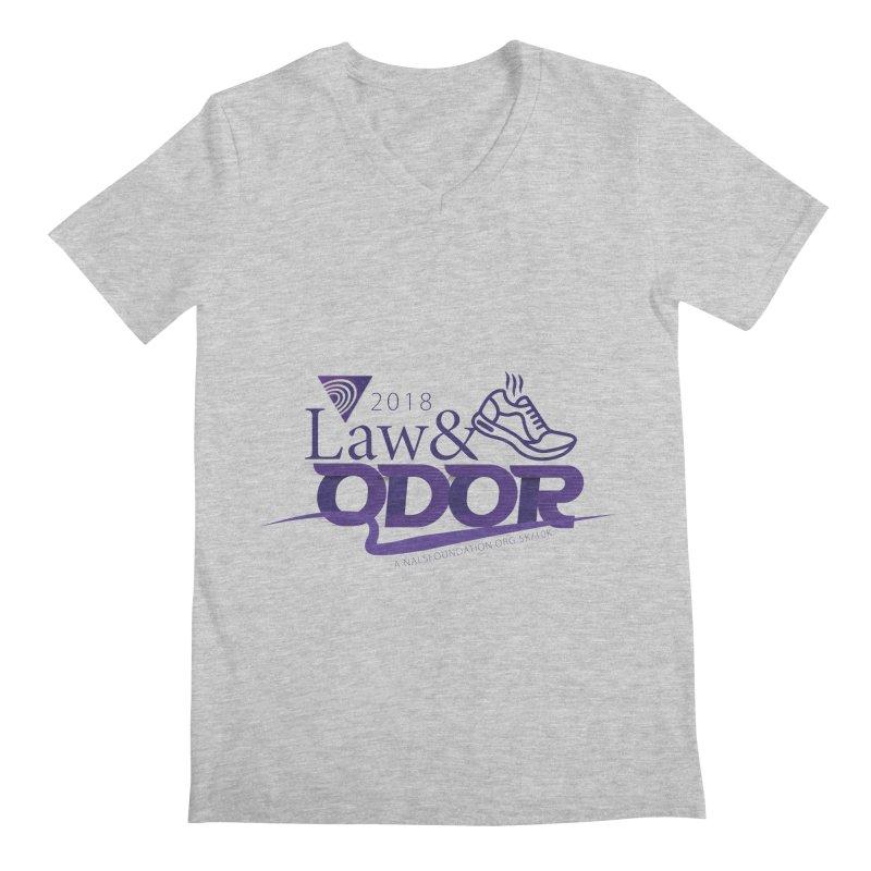 Law and Odor - Color Logo Men's Regular V-Neck by NALS.org Apparel Shop