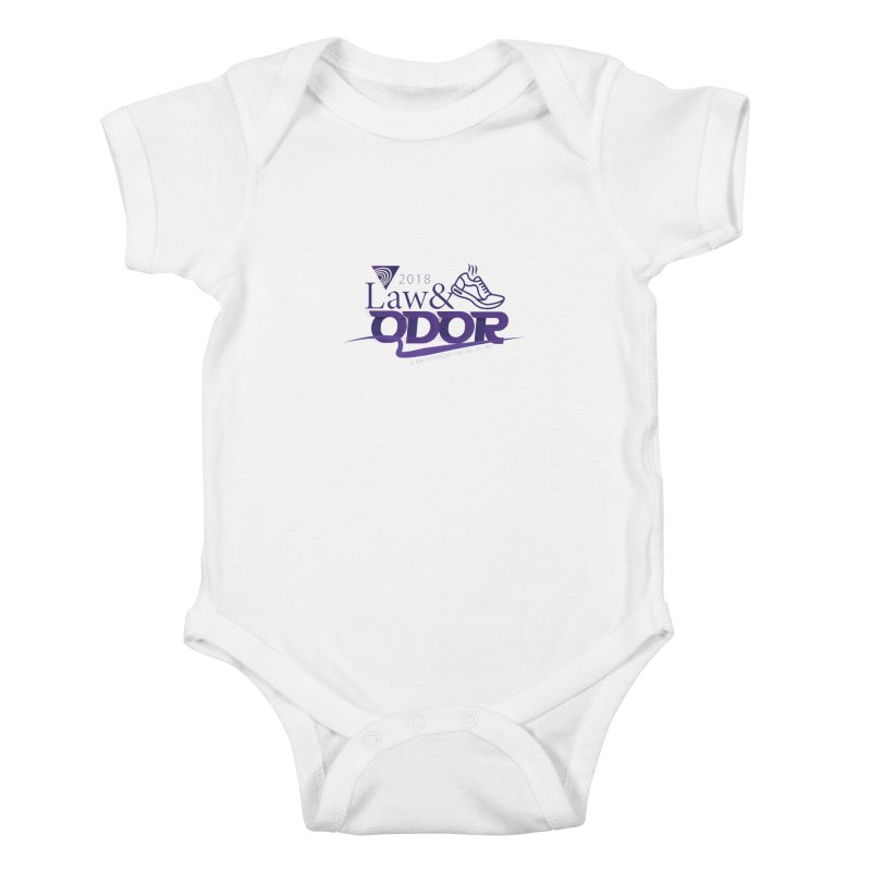 Law and Odor - Color Logo Kids Baby Bodysuit by NALS.org Apparel Shop