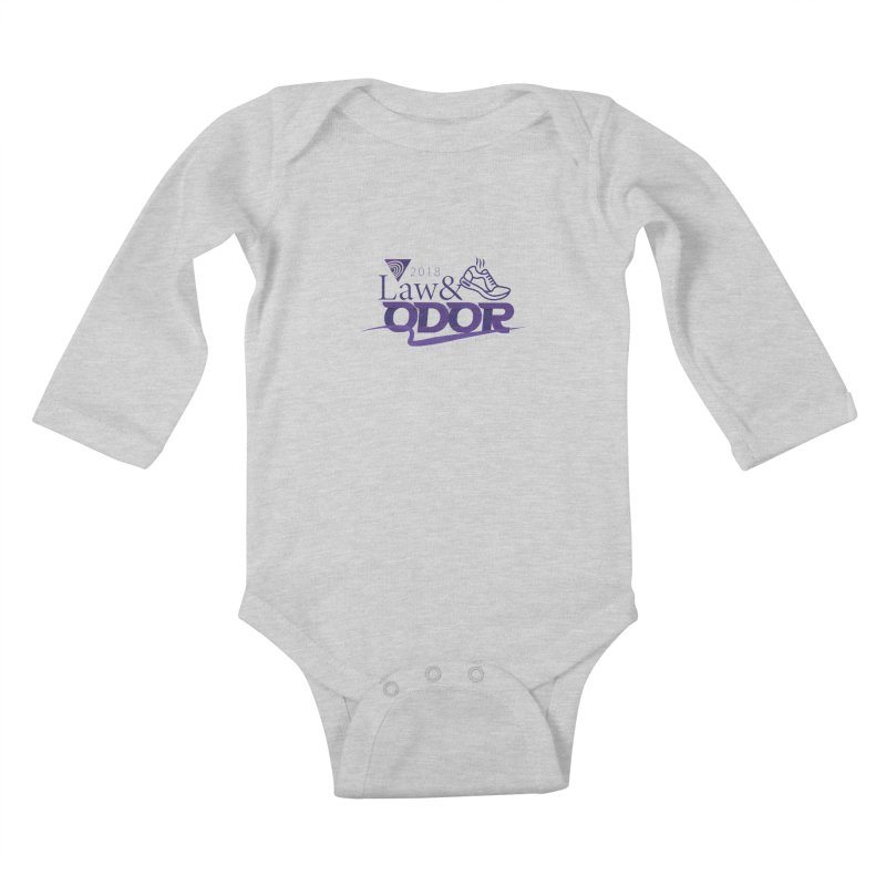 Law and Odor - Color Logo Kids Baby Longsleeve Bodysuit by NALS Apparel & Accessories