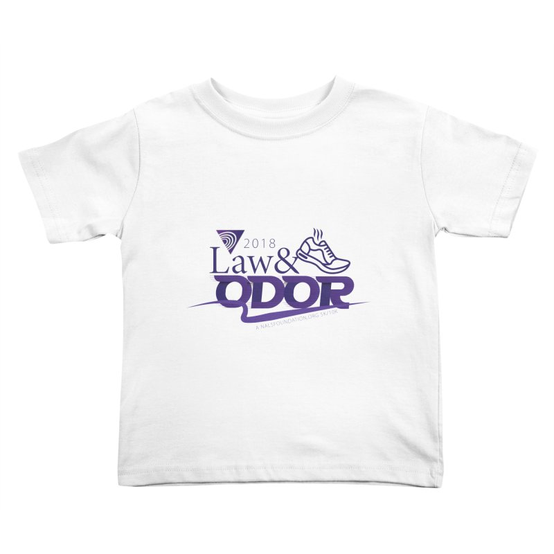 Law and Odor - Color Logo Kids Toddler T-Shirt by NALS.org Apparel Shop