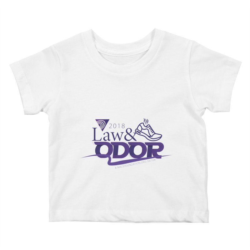 Law and Odor - Color Logo Kids Baby T-Shirt by NALS.org Apparel Shop