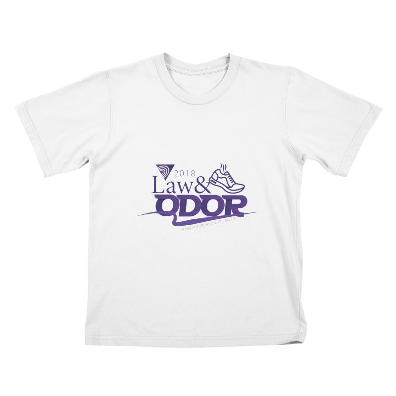 Law and Odor - Color Logo Kids T-Shirt by NALS.org Apparel Shop