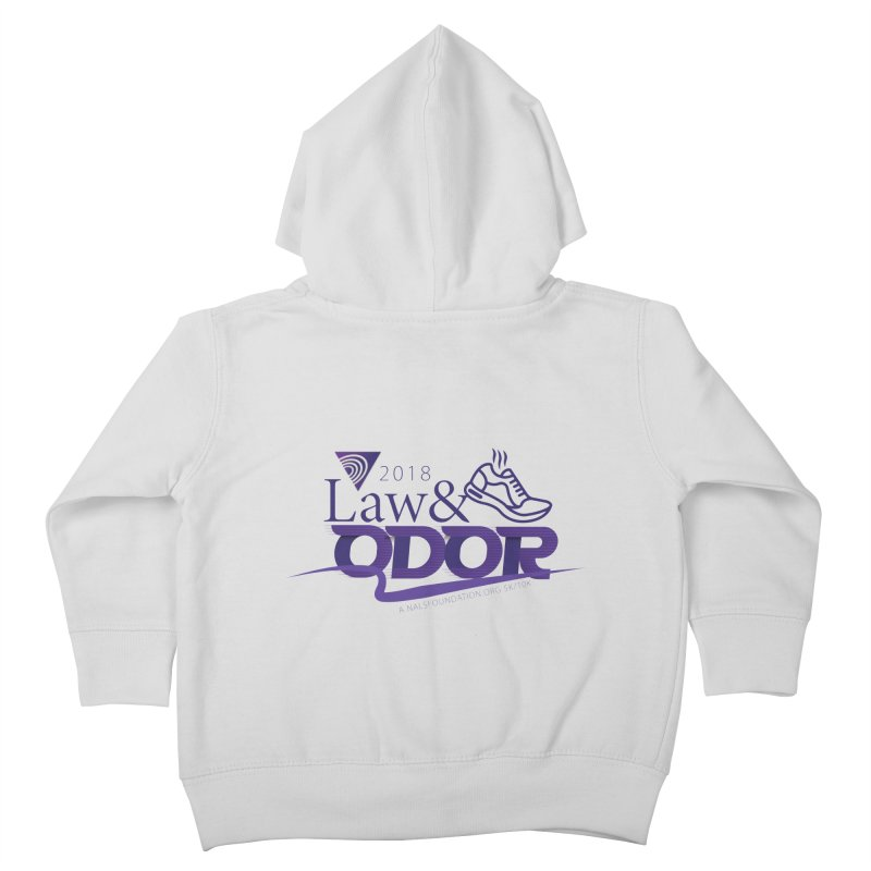 Law and Odor - Color Logo Kids Toddler Zip-Up Hoody by NALS.org Apparel Shop
