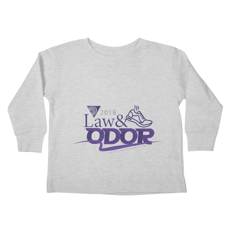 Law and Odor - Color Logo Kids Toddler Longsleeve T-Shirt by NALS.org Apparel Shop