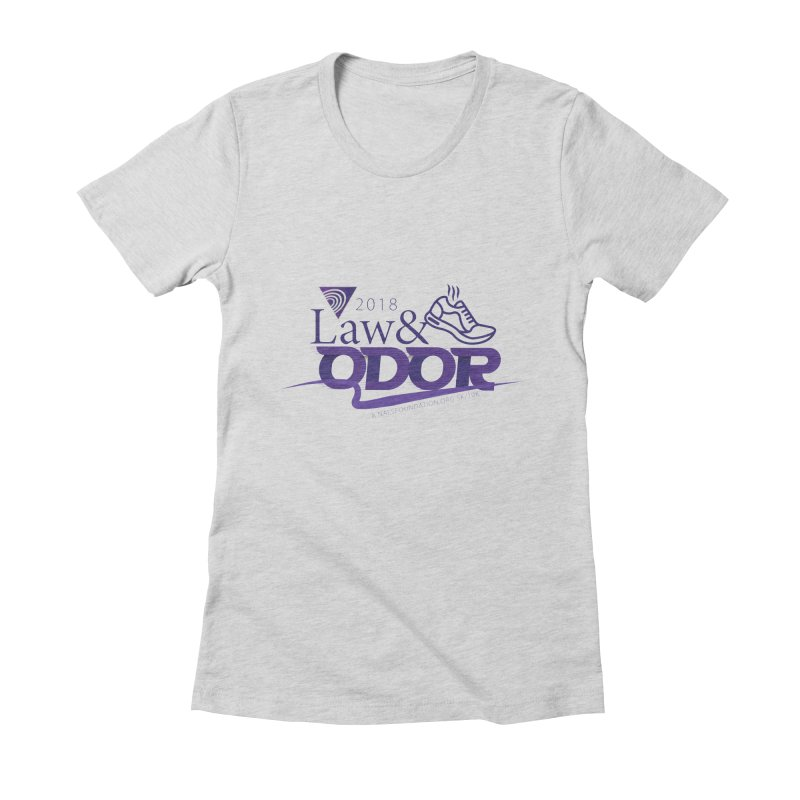 Law and Odor - Color Logo Women's Fitted T-Shirt by NALS.org Apparel Shop