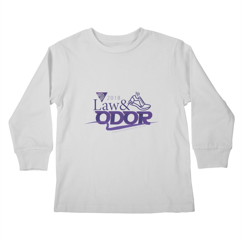 Law and Odor - Color Logo Kids Longsleeve T-Shirt by NALS Apparel & Accessories