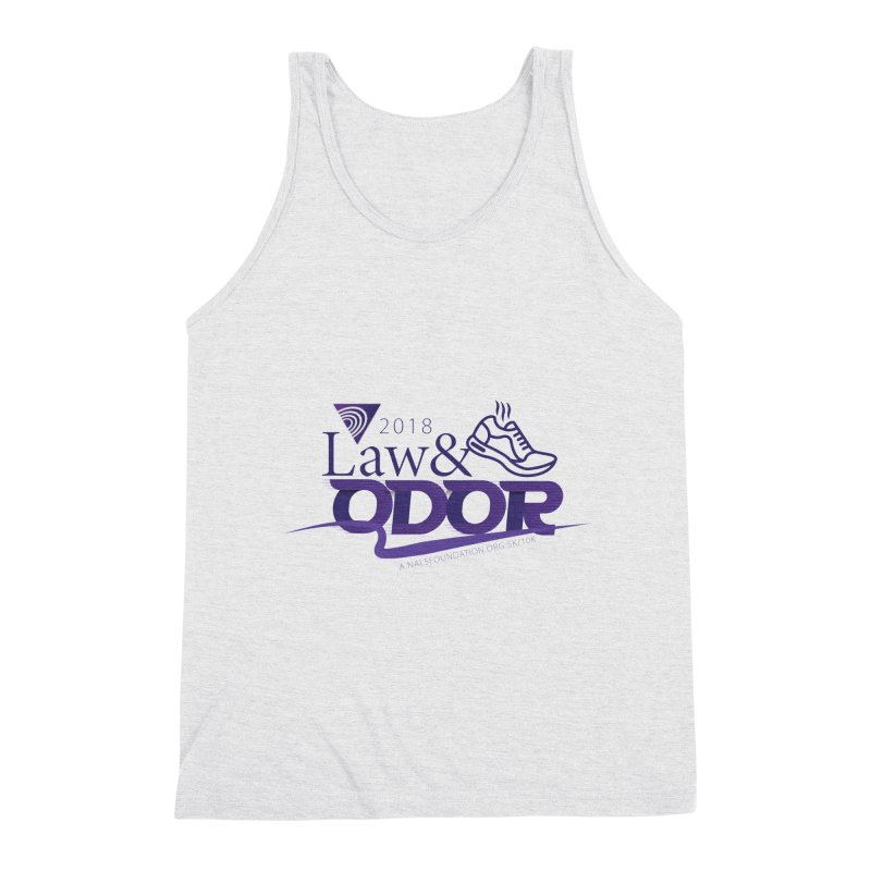 Law and Odor - Color Logo Men's Triblend Tank by NALS Apparel & Accessories
