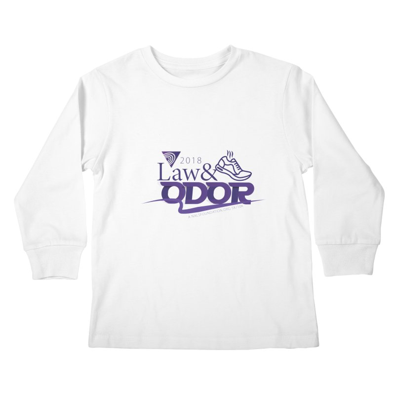 Law and Odor - Color Logo Kids Longsleeve T-Shirt by NALS.org Apparel Shop