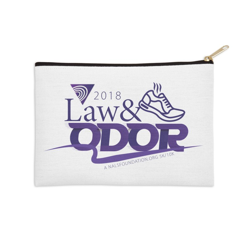 Law and Odor - Color Logo Accessories Zip Pouch by NALS.org Apparel Shop