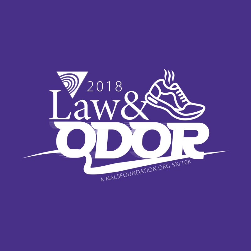 Law and Odor - White Logo   by NALS.org Apparel Shop