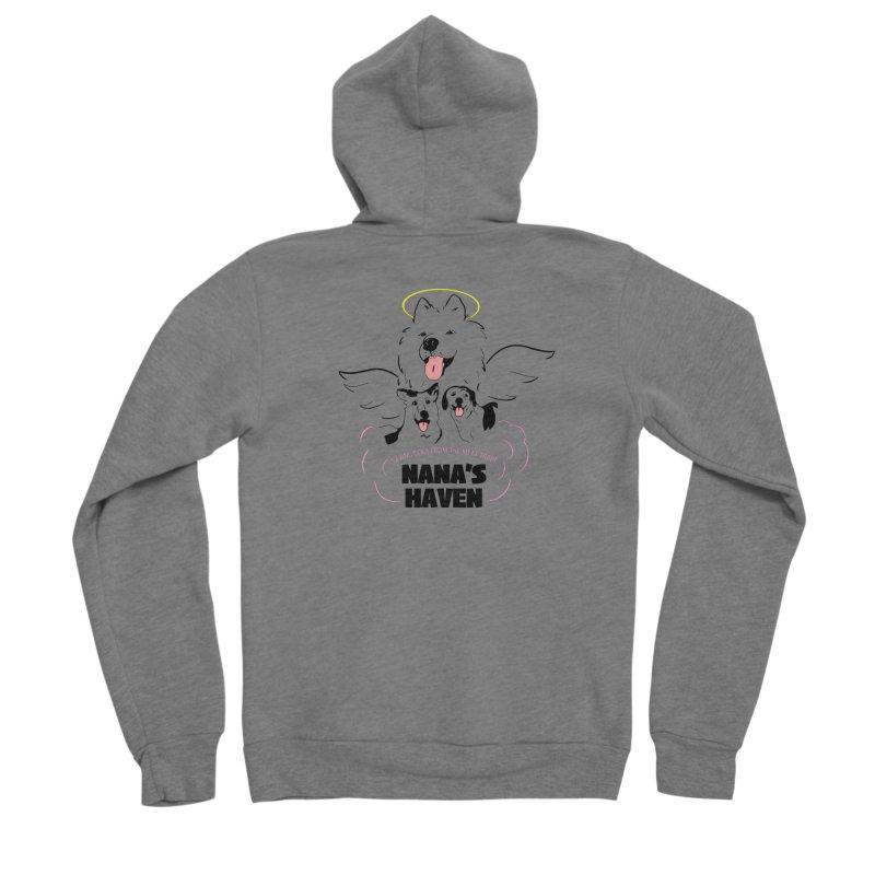 NANA'S LOGO PRINT Women's Zip-Up Hoody by NANASHAVEN Shop