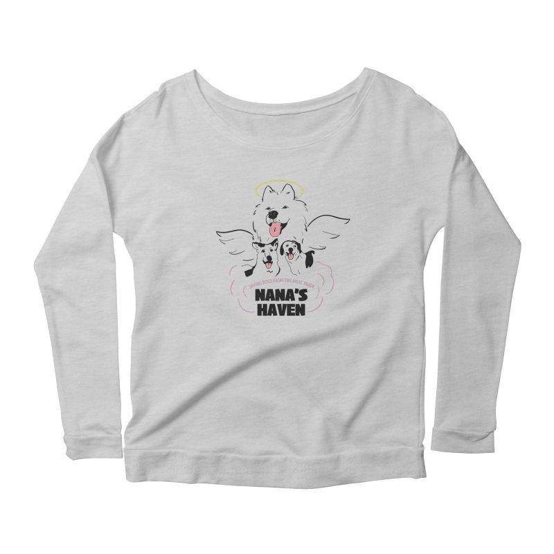 NANA'S LOGO PRINT Women's Longsleeve T-Shirt by NANASHAVEN Shop