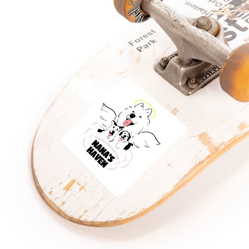NANA'S LOGO PRINT Accessories Sticker by NANASHAVEN Shop