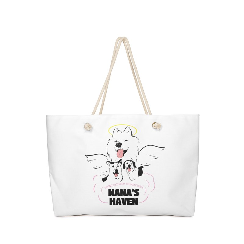 NANA'S LOGO PRINT Accessories Bag by NANASHAVEN Shop