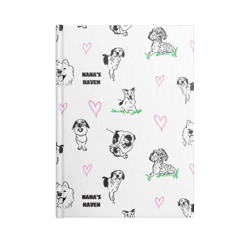 NANA'S ANGELS Accessories Notebook by NANASHAVEN Shop
